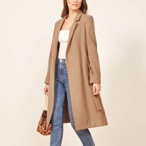 NWT Reformation Barton coat
